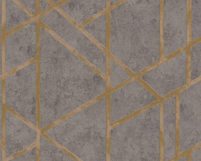 Ταπετσαρία Τοίχου Μοντέρνα Γεωμετρικά Σχήματα – AS Creation, Metropolitan Stories – Decotek 369281