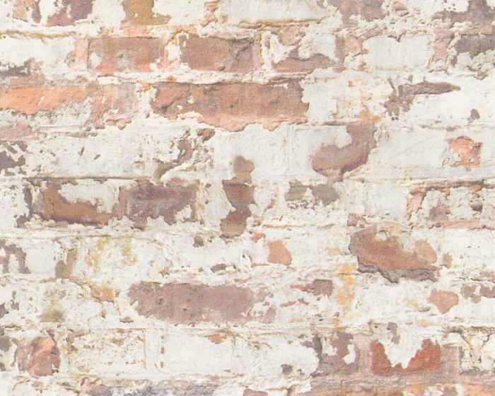 Ταπετσαρία Τοίχου Τούβλο, Τσιμέντο – AS Creation, Metropolitan Stories – Decotek 369291