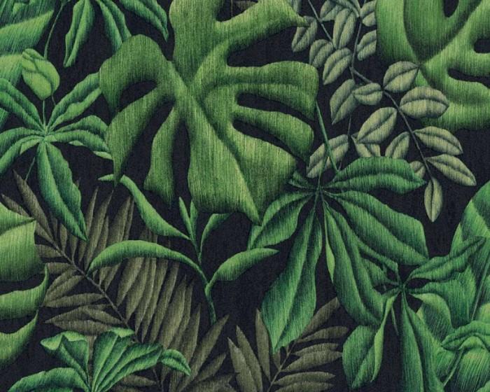 Ταπετσαρία Τοίχου Τροπικά Φυτά - AS Creation, Greenery - Decotek 370331
