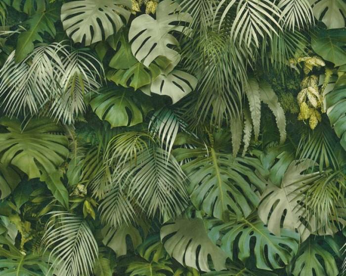 Ταπετσαρία Τοίχου Τροπικά Φυτά - AS Creation, Greenery - Decotek 372802