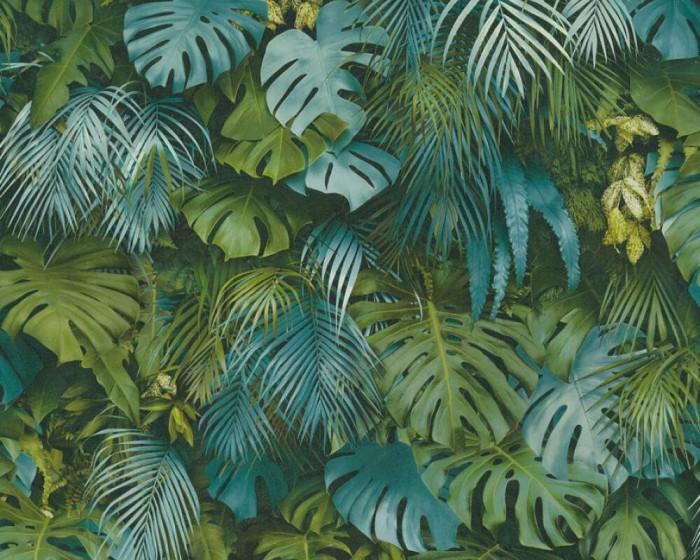 Ταπετσαρία Τοίχου Τροπικά Φυτά - AS Creation, Greenery - Decotek 372803