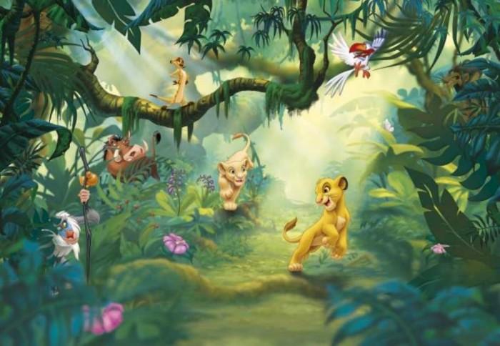 Παιδική Φωτοταπετσαρία Τοίχου Lion King - Komar - Decotek 8-475