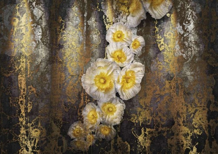 Φωτοταπετσαρία Τοίχου Λουλούδια - Komar - Decotek 8-963