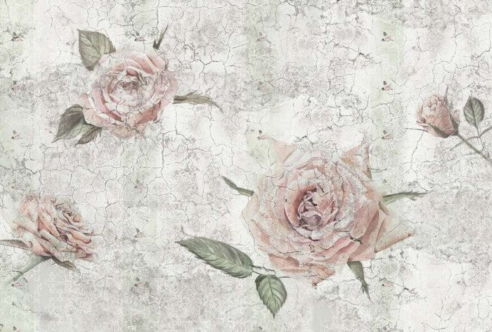 Φωτοταπετσαρία Τοίχου Λουλούδια - Komar - Decotek XXL4-049