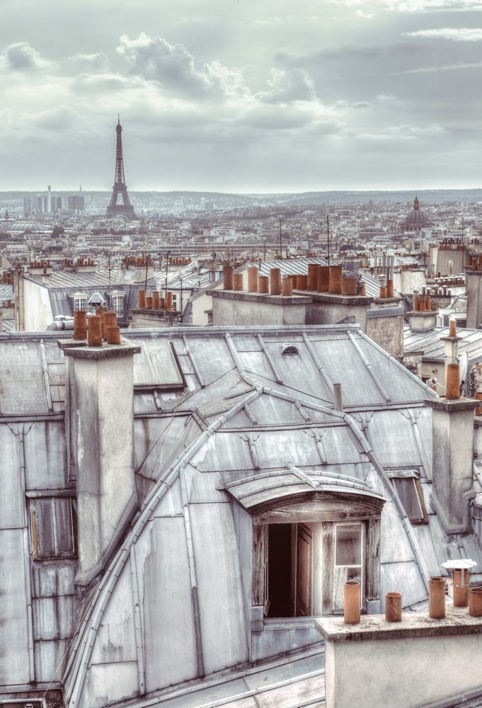 Φωτοταπετσαρία Τοίχου Παρίσι - 1wall - Decotek W2P-PARIS-003