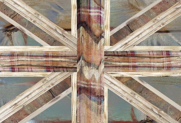 Φωτοταπετσαρία Τοίχου Αγγλική σημαία - 1wall - Decotek W2P-UNIONJACK-001
