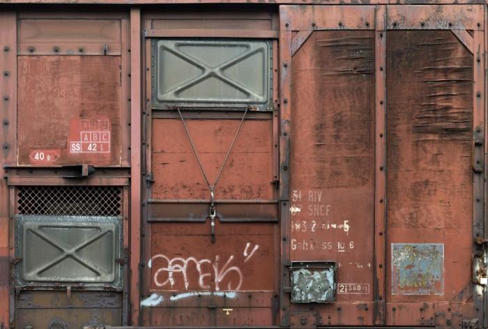 Φωτοταπετσαρία Τοίχου Σιδερένια πόρτα - Komar - Decotek ΧΧL4-001