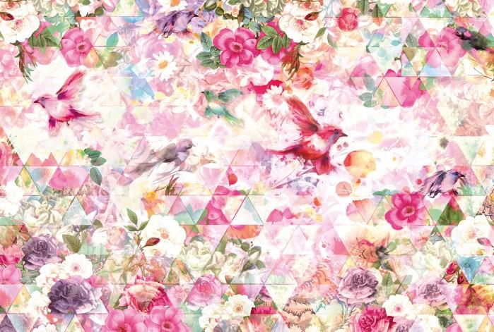 Φωτοταπετσαρία Τοίχου Λουλούδια - Komar - Decotek X8-019