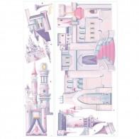 Παιδικό Αυτοκόλλητο Disney Princess Castle - Decotek 0719RMK1546GM