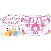 Παιδικό Αυτοκόλλητο Disney Princess Crown - Decotek 0719RMK1580GM
