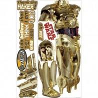 Παιδικό Αυτοκόλλητο C-3PO - Decotek 0719RMK1591GM