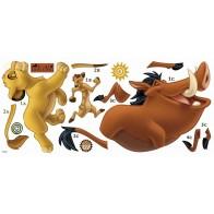 Παιδικό Αυτοκόλλητο Lion King  - Decotek 0719RMK1922GM