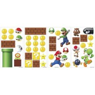Παιδικό Αυτοκόλλητο Super Mario Build a Scene - Decotek 0719RMK2351SCS