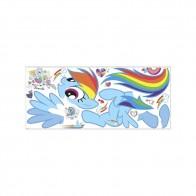Παιδικό Αυτοκόλλητο Little Pony Rainbow Dash - Decotek 0719RMK2532GM