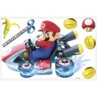Παιδικό Αυτοκόλλητο Mario Kart - Decotek 0719RMK3001GM