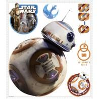 Παιδικό Αυτοκόλλητο Star Wars BB-8 - Decotek 0719RMK3147GM