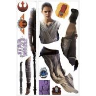 Παιδικό Αυτοκόλλητο Star Wars Rey - Decotek 0719RMK3149GM