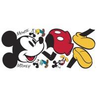 Παιδικό Αυτοκόλλητο Mickey Mouse - Decotek 0719RMK3259GM