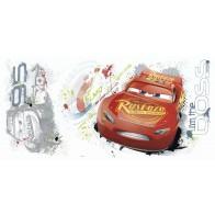 Παιδικό Αυτοκόλλητο Lightning McQueen - Decotek 0719RMK3465GM