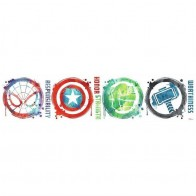 Παιδικό Αυτοκόλλητο Marvel Icons - Decotek 0719RMK3583SCS