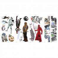 Παιδικό Αυτοκόλλητο The Last Jedi - Decotek 0719RMK3633SCS