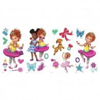 Παιδικό Αυτοκόλλητο Junior Fancy Nancy - Decotek 0719RMK3924SCS