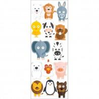 Παιδικό Αυτοκόλλητο Ζωάκια - Decotek 11047