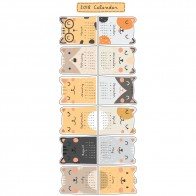 Παιδικό Αυτοκόλλητο Ημερολόγιο με Ζωάκια - Decotek 18900