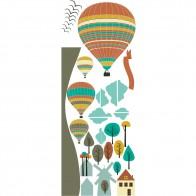 Παιδικό Αυτοκόλλητο Αερόστατα - Decotek 18903
