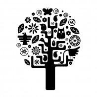 Αυτοκόλλητο Τοίχου Childs Tree - Decotek 09538