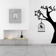 Αυτοκόλλητο Τοίχου Tree with Cage - Decotek 09285