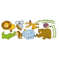 Παιδικό Αυτοκόλλητο Ζωάκια του Δάσους - Decotek 12460