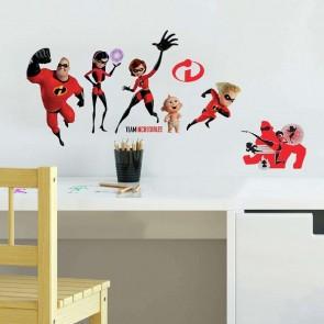 Παιδικό Αυτοκόλλητο Incredibles 2 - Decotek 0719RMK3800SCS