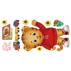 Παιδικό Αυτοκόλλητο Daniel Tiger - Decotek 0719RMK3992GM