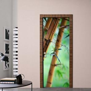 Αυτοκόλλητο Πόρτας Bamboo Decotek