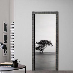 Αυτοκόλλητο Πόρτας Black & White Decotek