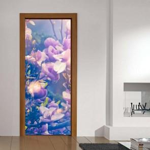 Αυτοκόλλητο Πόρτας Blossoms Decotek