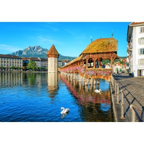 Φωτοταπετσαρία Τοίχου Λουκέρνη Ελβετία - W+G - Decotek 0157