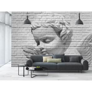 Φωτοταπετσαρία Τοίχου Αγγελάκι σε τούβλο - W+G - Decotek 0160
