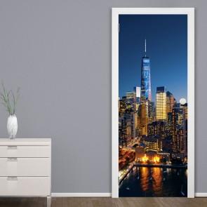 Αυτοκόλλητο Πόρτας Aerial Architecture  - Decotek 20183