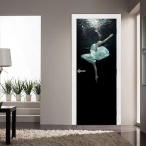 Αυτοκόλλητο Πόρτας Dancing Underwater - Decotek 20207