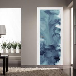 Αυτοκόλλητο Πόρτας Grey Abstract - Decotek 20220