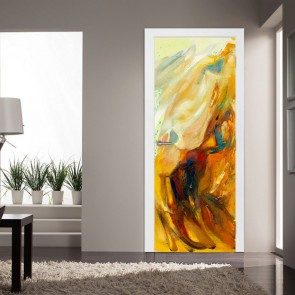 Αυτοκόλλητο Πόρτας Grounge Art - Decotek 20223
