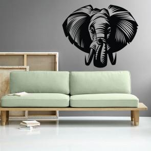 Αυτοκόλλητο Τοίχου Elephant - Decotek 09526