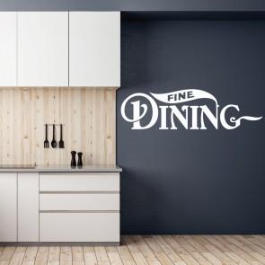 Αυτοκόλλητο Τοίχου Fine Dining - Decotek 09539