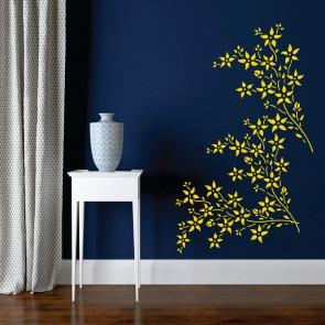 Αυτοκόλλητο Τοίχου Flowers - Decotek 09540