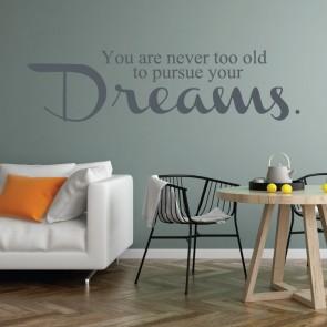 Αυτοκόλλητο Τοίχου Inspiration - Decotek 09528