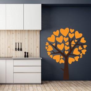 Αυτοκόλλητο Τοίχου Love Tree - Decotek 09545