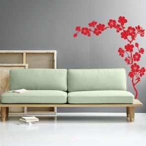 Αυτοκόλλητο Τοίχου Plum Blossom - Decotek 09542