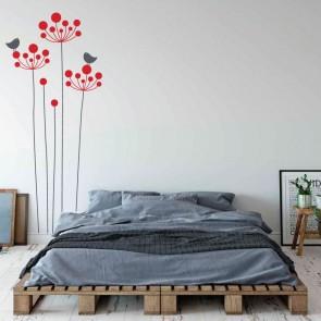 Αυτοκόλλητο Τοίχου Poppies- Decotek 09525